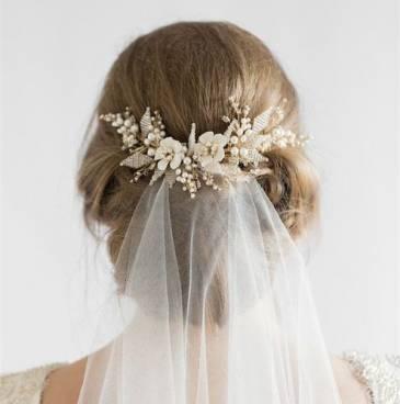 بالصور اكسسوارات شعر عروسة 2017, موقع انا عرسة